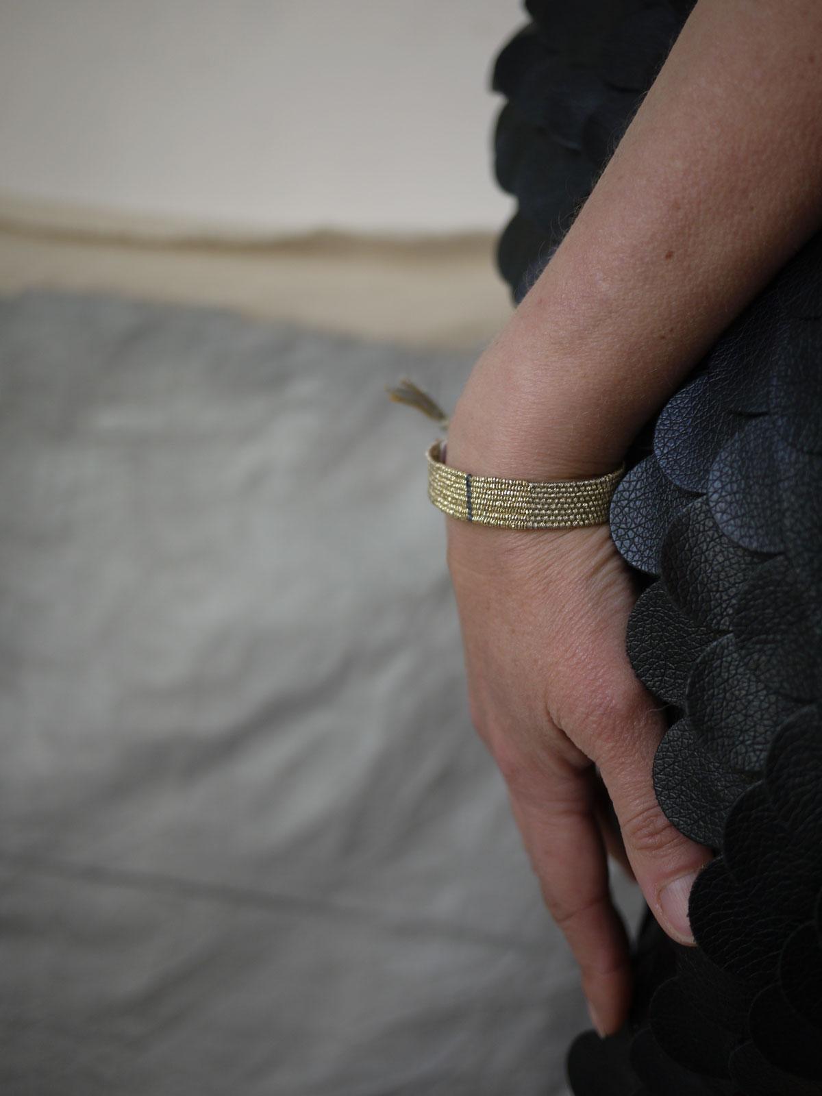 Bracelets LOOM - Design textile by Myriam Balaÿ myriam-balay-design-186 JOUR de PRINTEMPS L'appartement