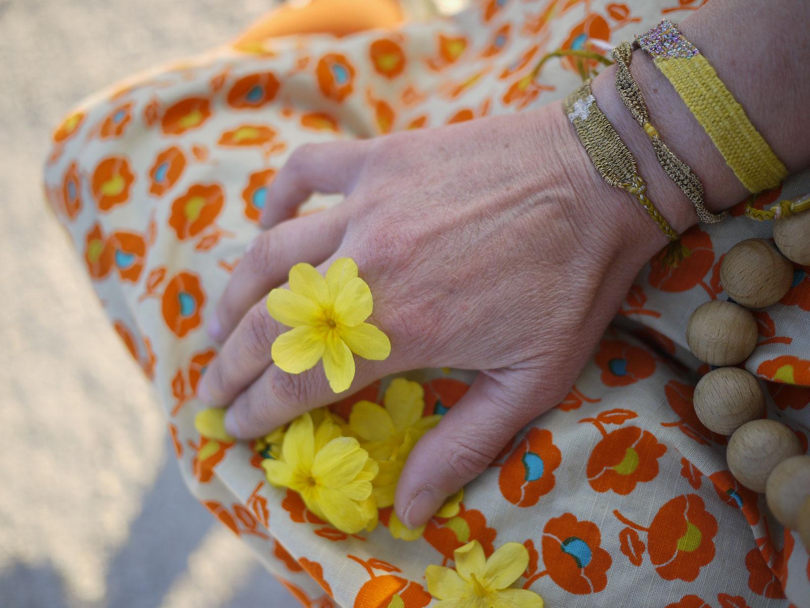 Bracelets LOOM - Design textile by Myriam Balaÿ myriam-balay-jardin1 CUEILLETTE du JARDIN L'appartement
