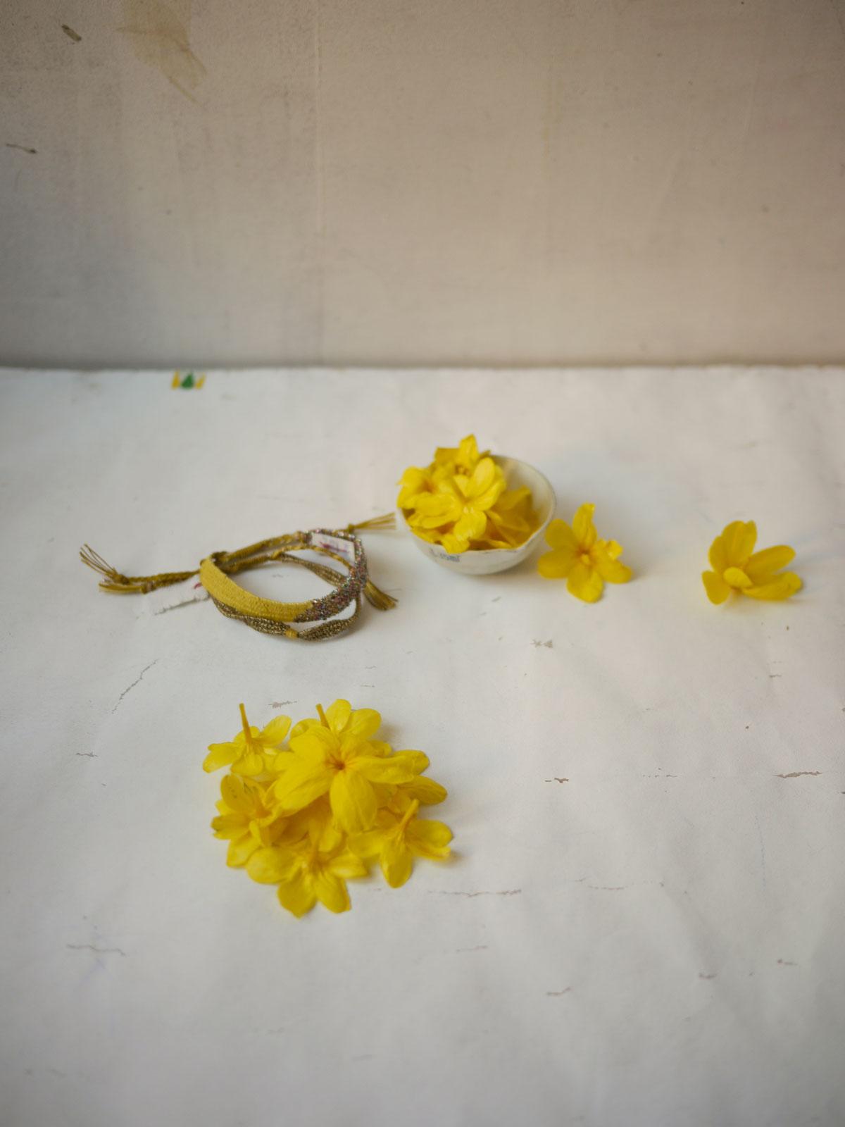 Bracelets LOOM - Design textile by Myriam Balaÿ myriam-balay-jardin2 CUEILLETTE du JARDIN L'appartement