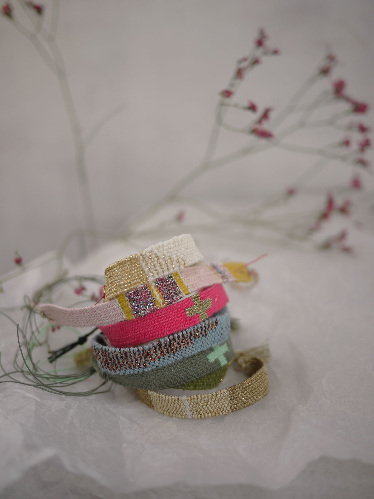 Bracelets LOOM - Design textile by Myriam Balaÿ myriam-balay-light2 D'une saison à l'autre... L'appartement