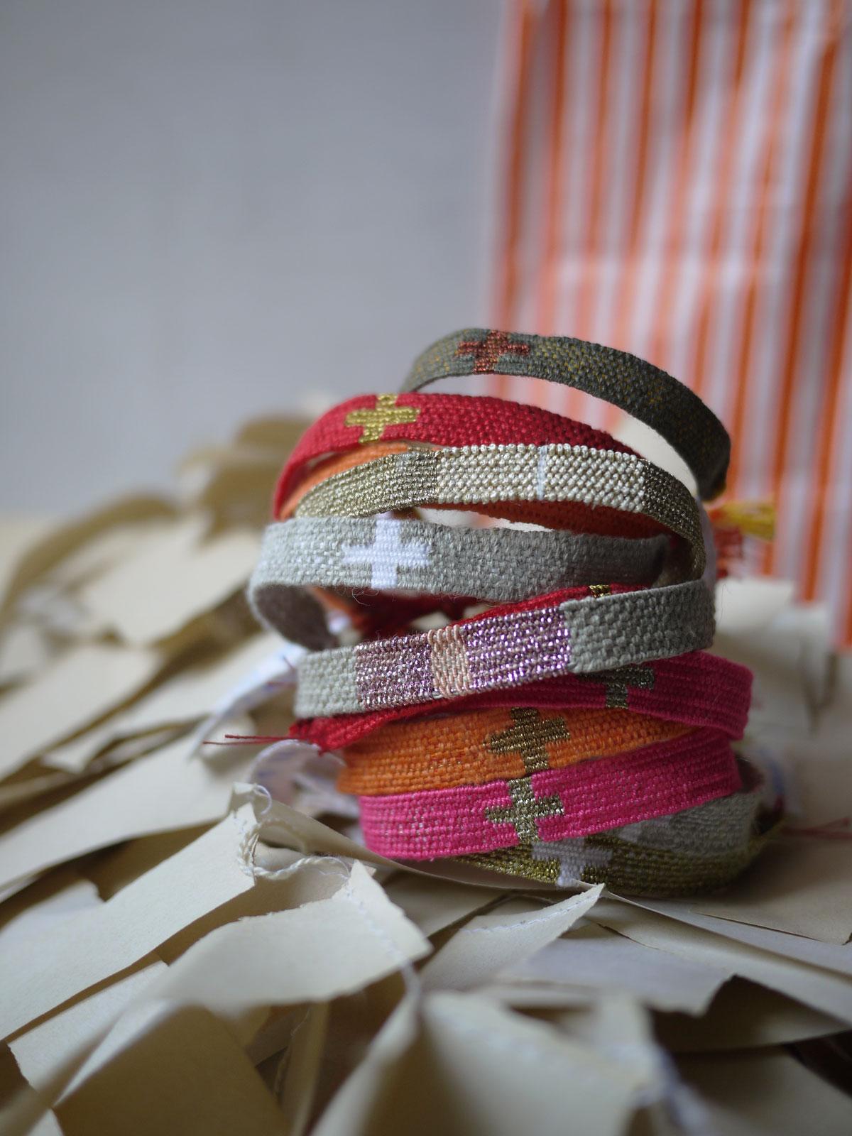 Bracelets LOOM - Design textile by Myriam Balaÿ myriam-balay-lundi2 FRENCH STYLE L'appartement