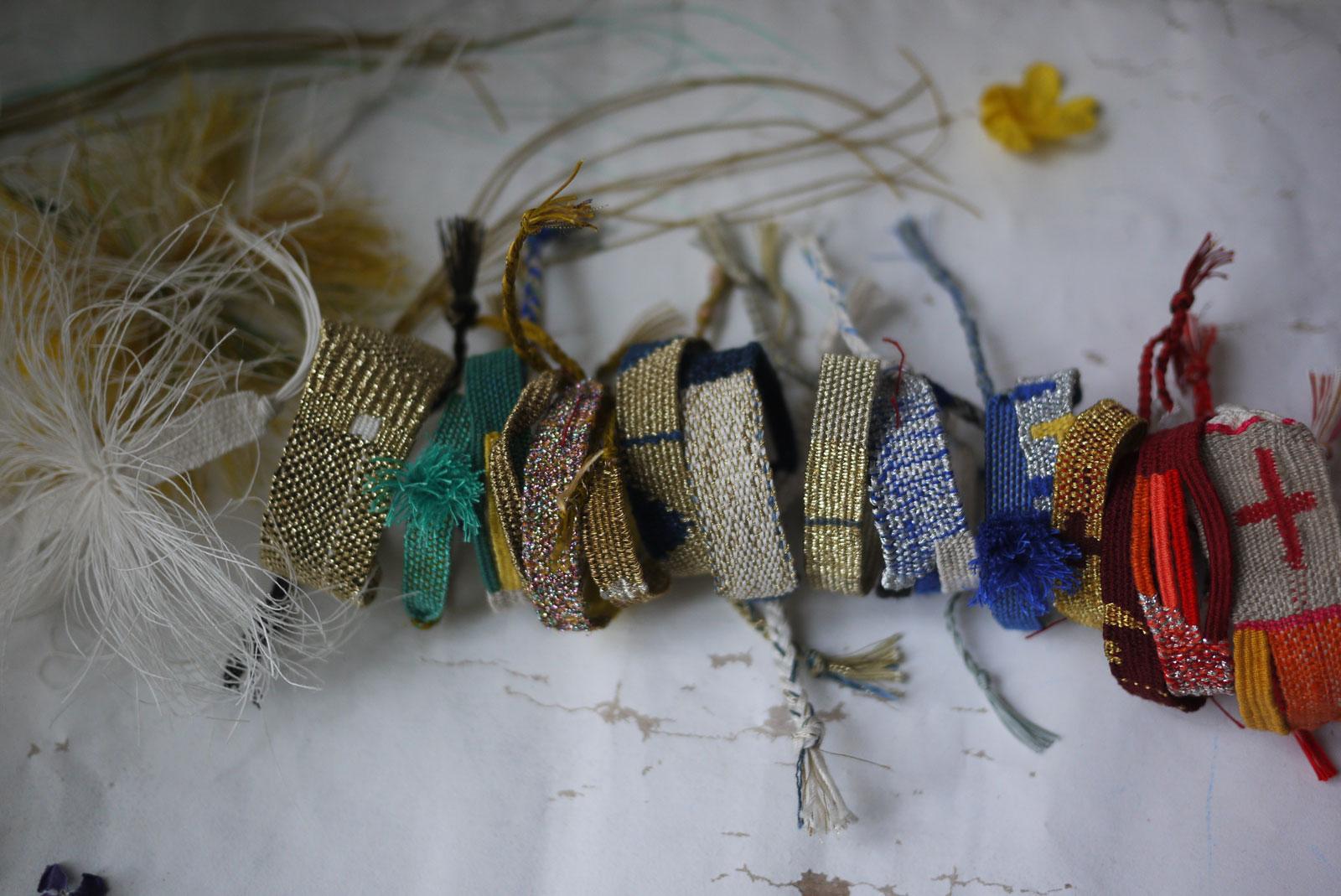 Bracelets LOOM - Design textile by Myriam Balaÿ myriam-balay-printempsloom Production en petite série L'appartement
