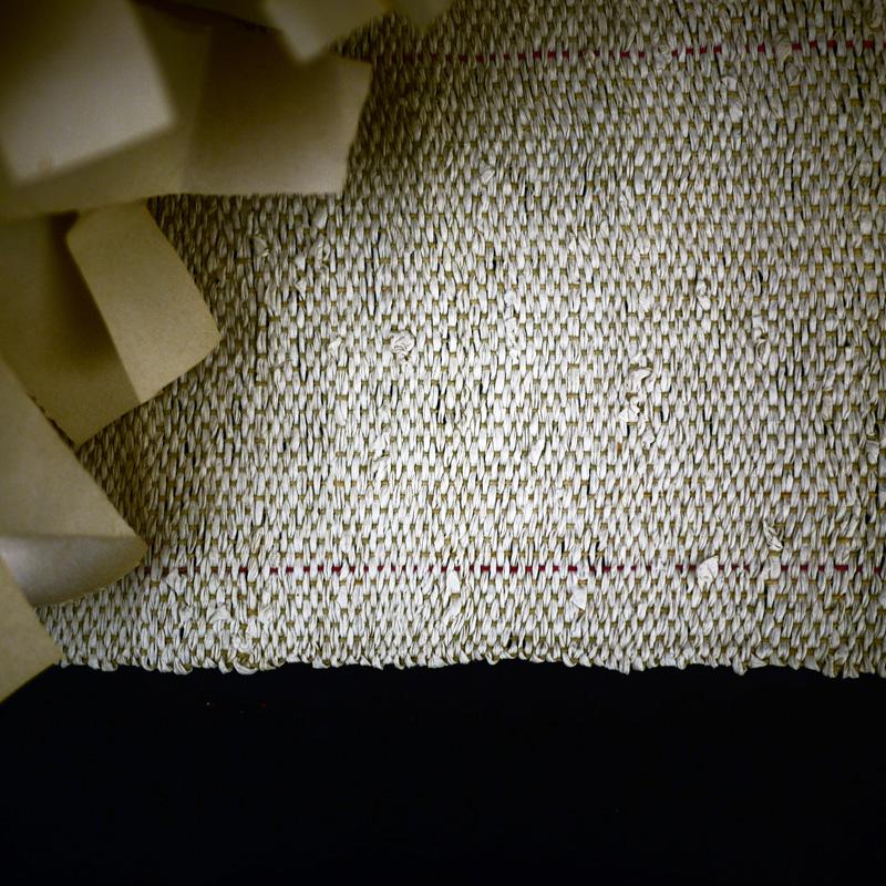 Bracelets LOOM - Design textile by Myriam Balaÿ myriam-balay-paper-weaving5 paper weaving L'appartement