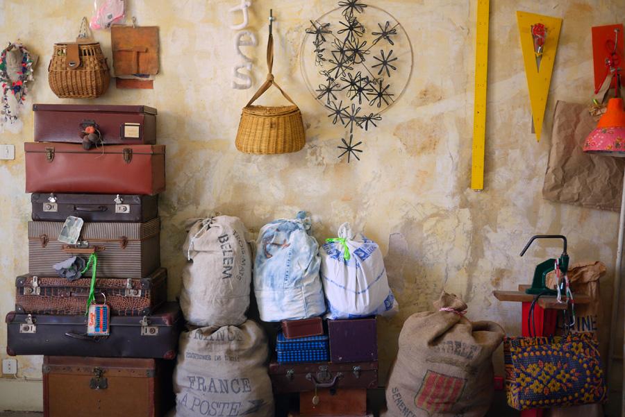 Bracelets LOOM - Design textile by Myriam Balaÿ myriam-balay place to work L'appartement