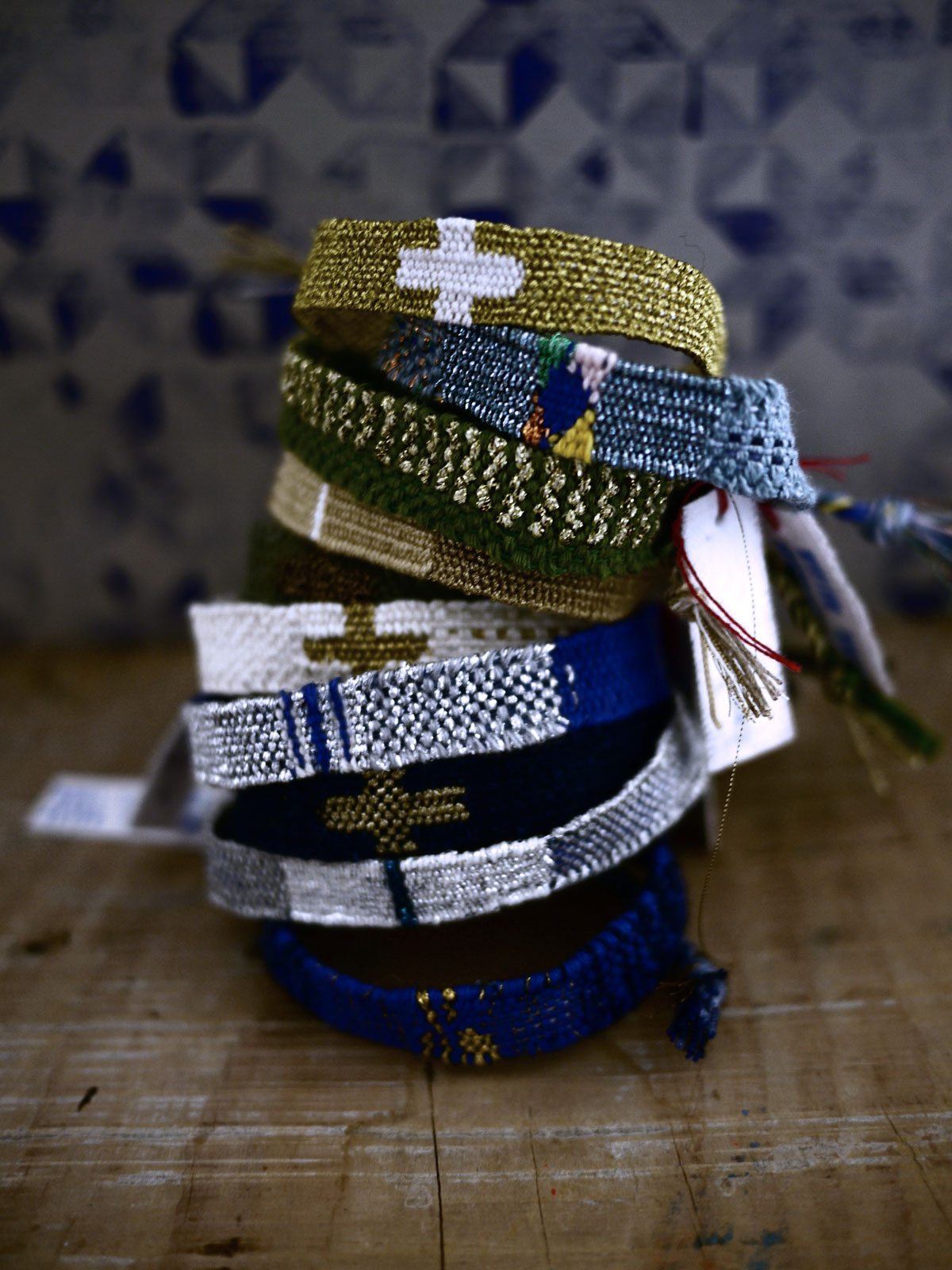 Bracelets LOOM - Design textile by Myriam Balaÿ myriam-balay-vogue-italie-press-review Les Bracelets LOOM sur Vogue Italia L'appartement