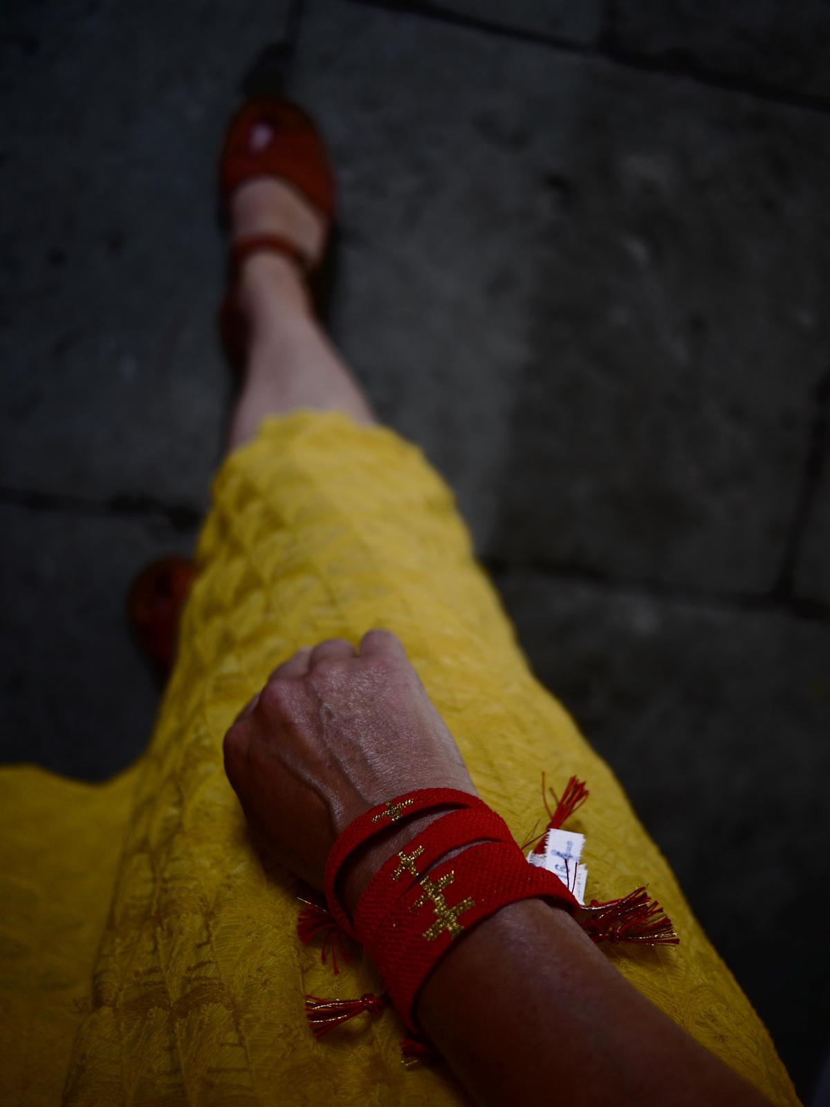 Bracelets LOOM - Design textile by Myriam Balaÿ myriam-balay-red1 ROUGE L'appartement