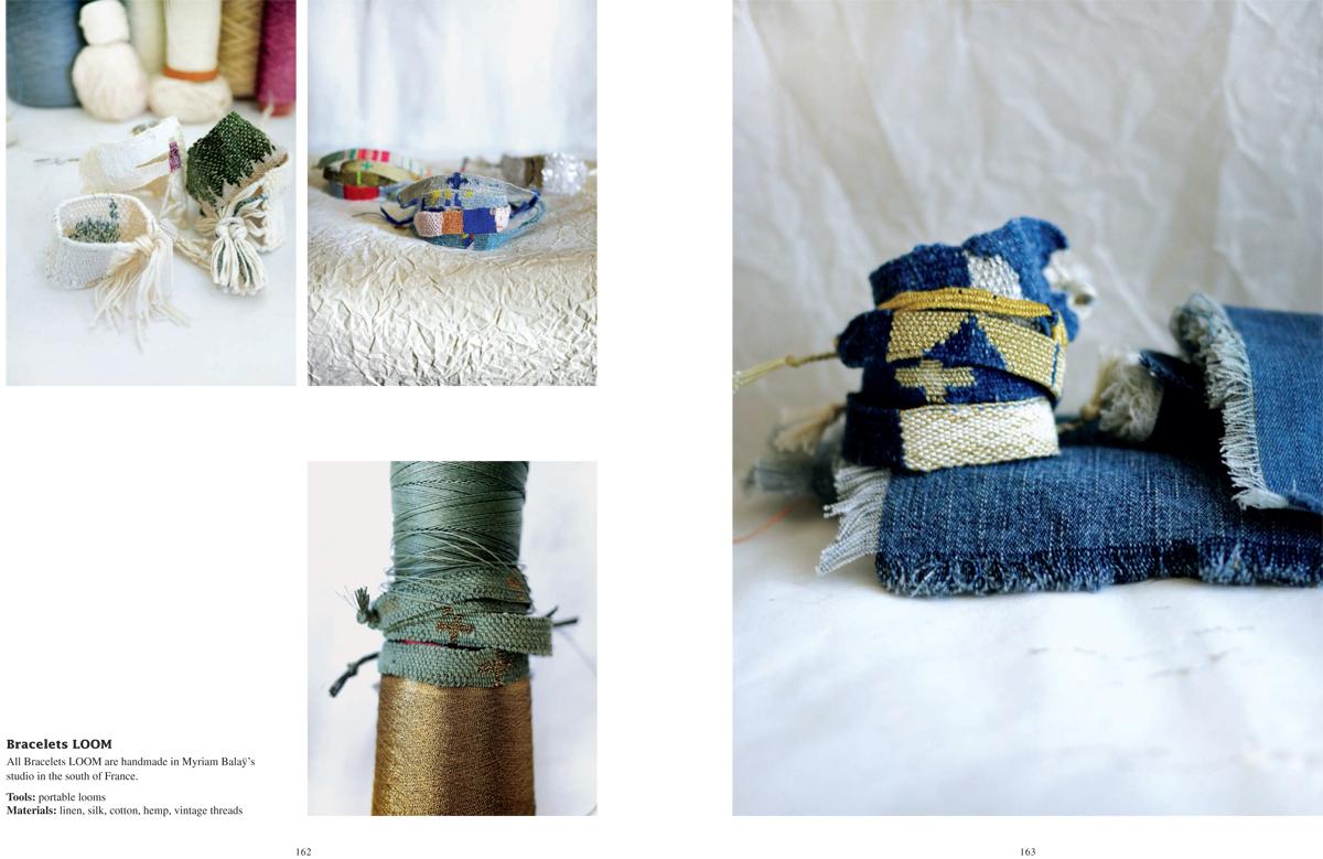 Bracelets LOOM - Design textile by Myriam Balaÿ Myriam-Balaÿ-Woven-Together_SANDU_def-3 Vient de paraitre : Woven Together, Weavers & Their Stories L'appartement