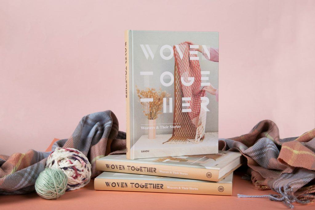 Bracelets LOOM - Design textile by Myriam Balaÿ woven-together-book-myriam-balay-1024x683 Vient de paraitre : Woven Together, Weavers & Their Stories L'appartement