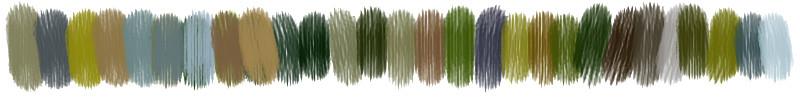 Bracelets LOOM - Design textile by Myriam Balaÿ myriam-balay-palette TOTEM BOTANIQUE L'appartement